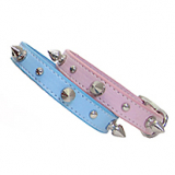 Hunde-Halsband Baby Spikes versch. Farben