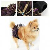 Schutzhöschen 'Tiffany' schwarz-violett