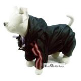 Hunde-Regenanzug 'Navy' dunkelblau (Gr.XXS,XS,XL)