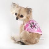 Hunde-Top 'Wild Floral' rosa (Gr.M,L)