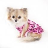 Hunde-Kleid 'Pink Leo' pink