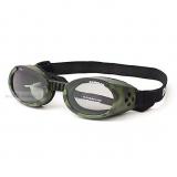 Hunde-Sonnenbrille Camo grün (Gr.XS)