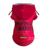 Hunde-Sweater Pepper Boys rot