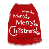 Hunde-Top Merry Merry Christmas rot (Gr.XXS,XS,S)