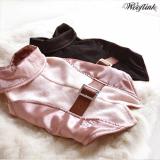 Weste 'My First Tux' rosé, schwarz