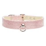 Hunde-Halsband 'Onyx' rosé