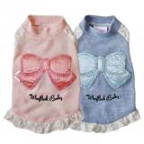 Shirt 'Spring Breeze' blau, rosé
