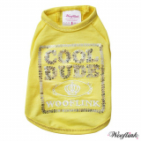 Shirt 'Cool Dude' yellow