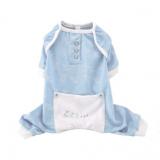 Hundepyjama 'Lulla Lamb' hellblau (Gr.XS)