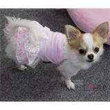 Hundekleid Lace rosé
