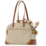 Hundetasche Luxury Bag brown