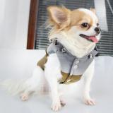 Hunde-Jacke 'Venturer' oliv (Gr.XS,L)