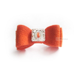 Hunde-Haarschleife Big Bow orange