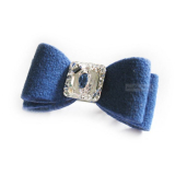 Hunde-Haarschleife Big Bow royal blue