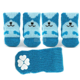 Hundesocken Smile blau