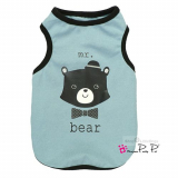 Top Mr.Bear aqua (Gr.S)