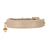 Halsband TC-Crystal beige-gold (Gr.S)