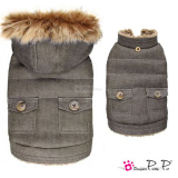Hundejacke Denim sand (Gr.XL)