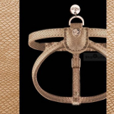 Geschirr NAJA camel-kroko (Gr.L,XL)