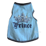 Hundetop 'Prince' blau (Gr.XS,L)