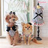 Hunde-Haarschleife 'Muse' blush