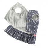 Hundekleid 'Check' grey