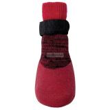 Hundeschuhe/ Socken 'In & Out' rot