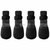 Hundeschuhe/ Socken In & Out schwarz (Gr.XS)