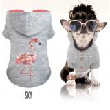 Sweater 'SKY' hellgrau-meliert