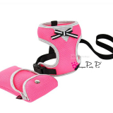 Hundegeschirr im Set 'Princess' pink