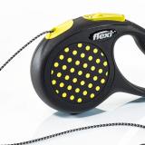 flexi Design Rollleine 'Design' gelb