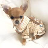 Hunde-Dress MY VINTAGE lachsrosa