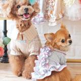 Hunde-Dress 'MY VINTAGE' lachsrosa