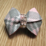 Haarschleife 'New Bow' electric pink