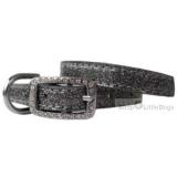 Hunde-Halsband Sparkle anthrazit (Gr.M)