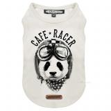 Shirt PANDA RACER weiß