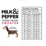 Hunde-Sweater COMET rot (Gr.28,40)