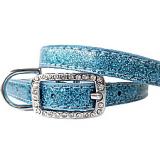 Hunde-Halsband Sparkle ocean blue