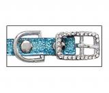 Hunde-Halsband 'Sparkle' ocean blue