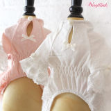 Hundekleid 'Dreamy Afternoon' peach