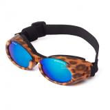 Hunde-Sonnenbrille Leo braun