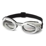 Hunde-Sonnenbrille 'Metallic' silber