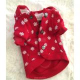 Hundesweater 'FLAKE' rot