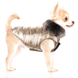 Hundejacke 'MOONLIGHT' gold