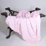 Hundedecke LUXE rosé