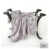 Hundedecke LUXE taupe