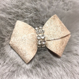 Hunde-Haarschleife 'New Bow' champagne