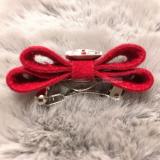 Hunde-Haarschleife 'Big Bow' rot
