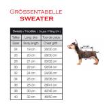 Hunde-Sweater 'TOSCANA' schwarz