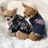 Hunde-Poloshirt 'HONOLULU' navy